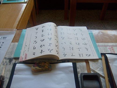 Un libro escrito en japonés