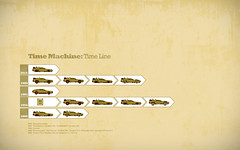 Time Machine: Time line (Pixel Fantasy) Tags: bttf flux 80s delorean backtothefuture timemachine