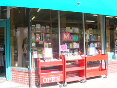 You can check out our window displays while browsing the carts