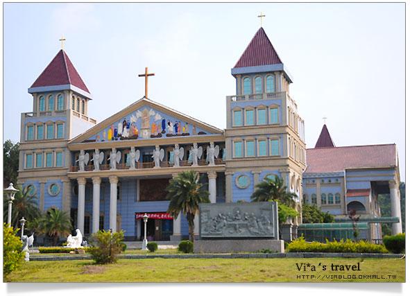 敗犬女王景點-圓滿教堂