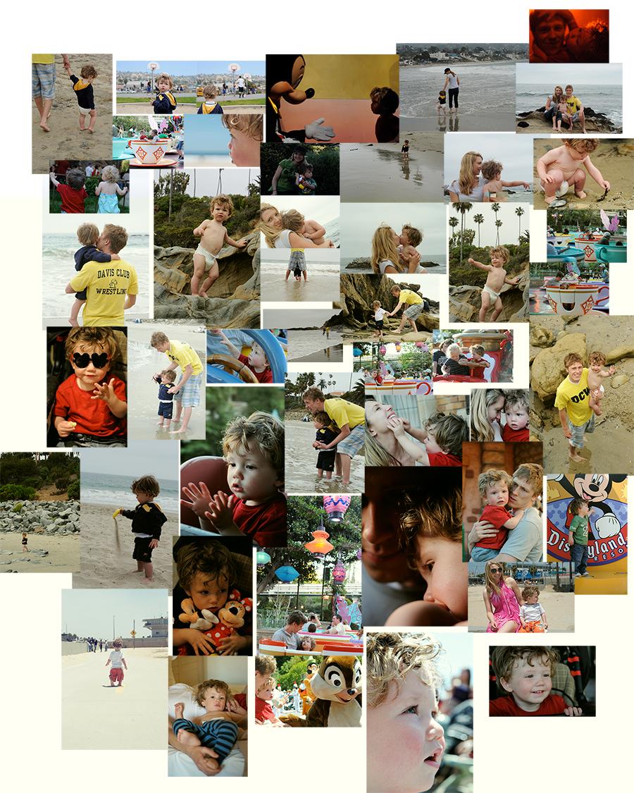 disneyland-collage