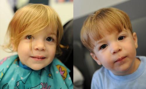 144/365: Jaylen's 1st haircut