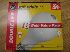 Incandescent Bulb packaging