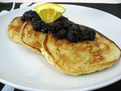... in the Kitchen with Nigel Slater: May's Orange & Ricotta Pancakes