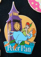 Peter Pan Pin (partyhare) Tags: london movie flying pin bigben peterpan disney animation wendy pintrading disneypin wendydarling youcanfly bigben150thanniversary
