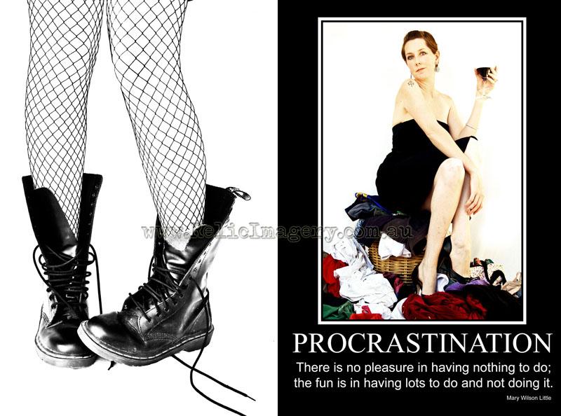 Procrastination (web) copy