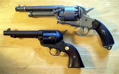 gun revolver peacemaker colt saa airsoft steampunk lemat singleactionarmy coltsingleaction