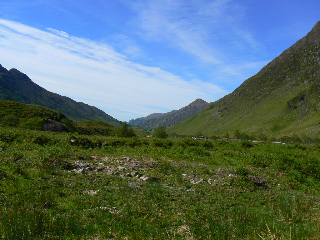 West down Glen Shiel