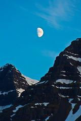 The moon last night (*Jonina*) Tags: moon mountains iceland ísland fjöll tunglið fáskrúðsfjörður faskrudsfjordur betterthangood absolutelystunningscapes