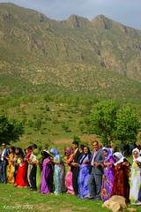 Kurdish dans (kezwan) Tags: nature dance spring kurdistan kurd kezwan