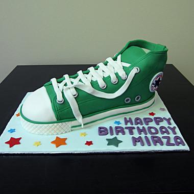 3D Converse cake