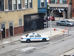 Ysg (EMENFUCKOS) Tags: chicago car graffiti police squad interceptor ysg chicagograffiti
