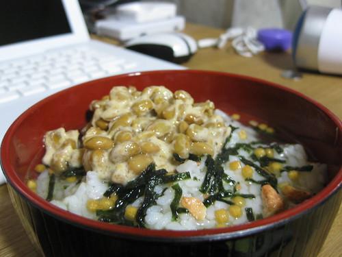 natto chazuke