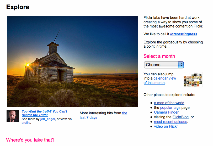 Flickr to Overhaul Explore Page, Will the Magic Donkey Be Shot in the Head?
