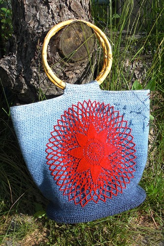 lace doily crochet bag-1