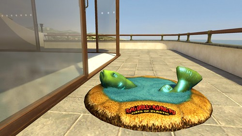 PlayStation Home - Rag Doll Kung Fu fish rug