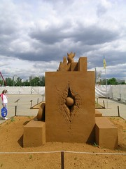 sculpture art sand скульптурывколоменском2009