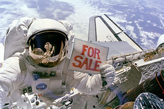 Satellites For Sale (Review of U.S. Human Space Flight Plans Committee) Tags: dale gardner eva shuttle joseph allen iv discovery payload assist modules pam westar 6 satellites nasa
