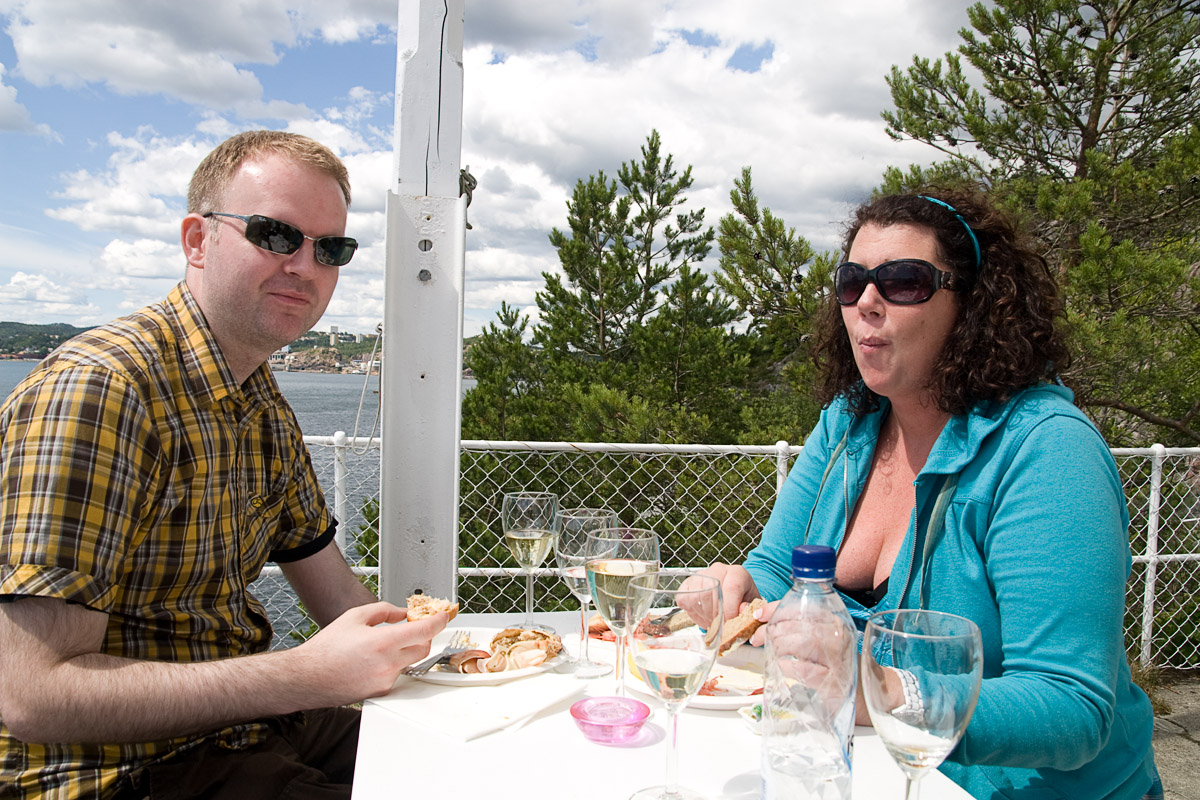 Eirik Helland Urke og Kristin Oudmayer