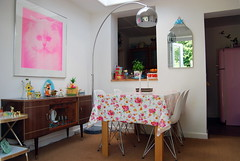 (Candy Pop) Tags: wood old uk pink england home kitchen floral vintage photography photo 1930s flickr candy kitsch pop retro photograph diningroom oxford habitat cottagestyle oxfordshire homesweethome oxon cathkidston shabbychic candypop candypopimages