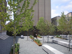 part of The Brewery's Zilber park (by: Dave Reid, creative commons license)