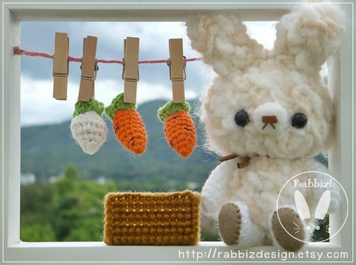 Amigurumi Cracker Girl Bunny Free Pattern- Part-1 - Tiny Mini ... | 373x500
