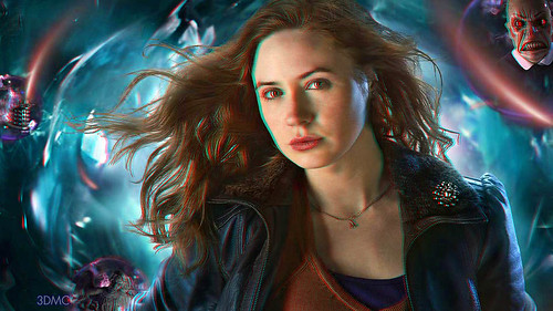 Amy Pond (Doctor Who) 3D Wallpaper