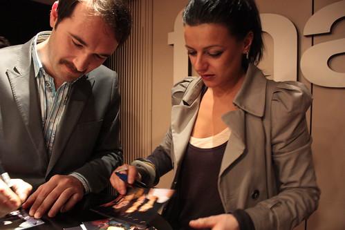 Rachele Bastreghi e Claudio Brasini