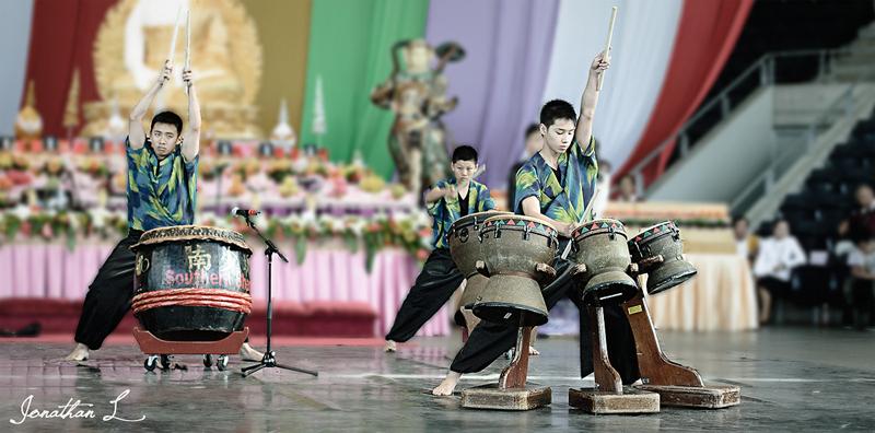 Buddha Fest - Drum Performance
