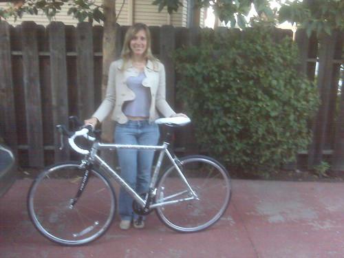 Quel Gets a Bike