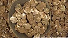 Macedonian Byzantine Coin Hoard