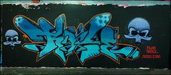 Rise - Leake Street May16 2010 (303db) Tags: street uk england streetart london art st wall painting graffiti paint artist creative may commons can spray waterloo painter writer write graff rise piece aerosol lambeth legal leake 2010 steetart authorised sprayer
