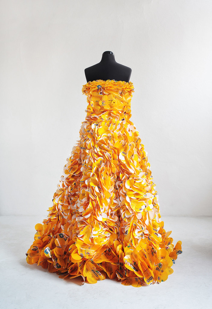 Yellow Peanut M&M Dress
