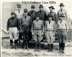 Detriot Officers1938 (Make Oxygen... Kill Co2...Plant More Trees) Tags: usa fashion vintage army clothing uniform general boots military coat retro riding jacket uniforms officer generals medals officers breeches ridingboots armyofficer ridingbreeches officerwearinguniform