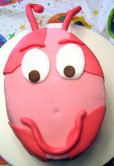 Uniqua Birthday Cake (DolceTreat) Tags: birthday pink girly pokadots backyardigans uniqua