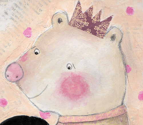 Nina & The Polar Bear - detail