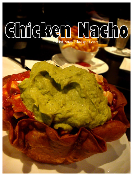 The Angel Cafe: Chicken Nachos