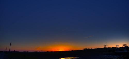 wide sky sunset
