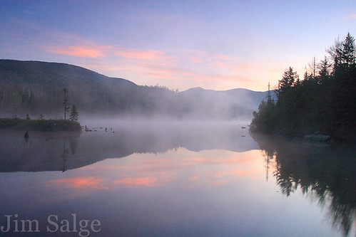 Misty Sunrise - Flat Mountain Pond