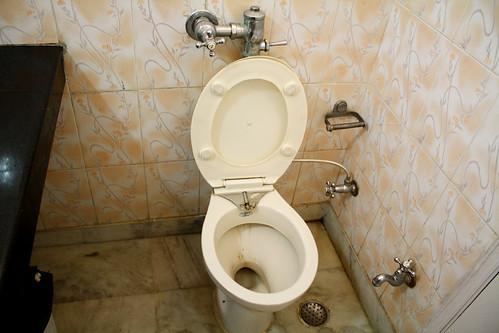 Royal Residencyホテルのトイレ