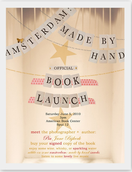 Amsterdam: Made By Hand Party