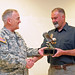 Col. Joe Hoffman presented with Guard Eagle Award