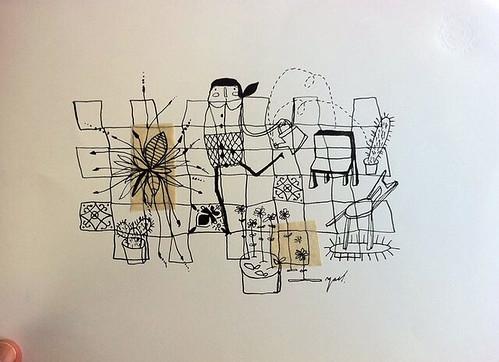 Garden II by Yaelfran