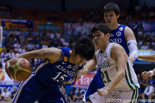 2011 FilOil Flying V Preseason Tournament: De La Salle Green Archers vs. Ateneo Blue Eagles, June 4