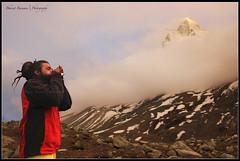 The Prayer (Bharat Baswani) Tags: park india mountain snow mt peak mount national baba bharat conch gangotri shivling tapovan mauni uttarakhand shankh baswani