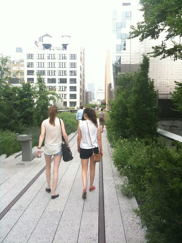 At the High Line's second section, @ 23rd St.