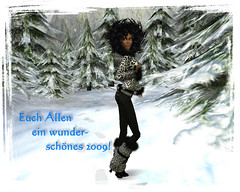 Happy New Year (angie.vita) Tags: avatar pic sl secondlife 2009 happynewyear gothicatz angievita