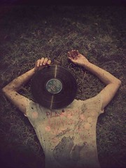 (celiaaa) Tags: boy music records guy grass rock acdc vintage dark disco hands arms bokeh head grunge tshirt retro textures chilling lp musica etc kicks tones ricky chill vinilo encore vinil vynil mrlp
