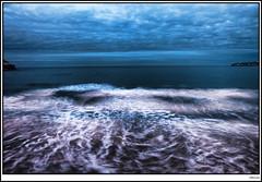 Espuma de mar (wences bover) Tags: asturias gijon xixon playasanlorenzo