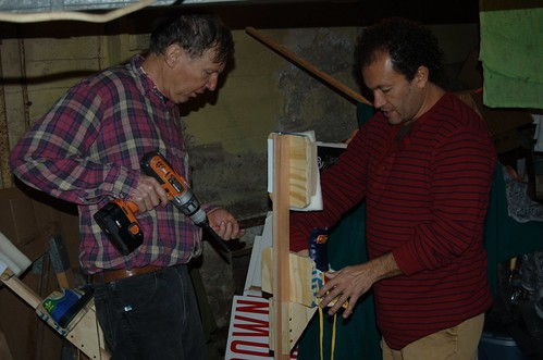 Paul and Hector build a puppet